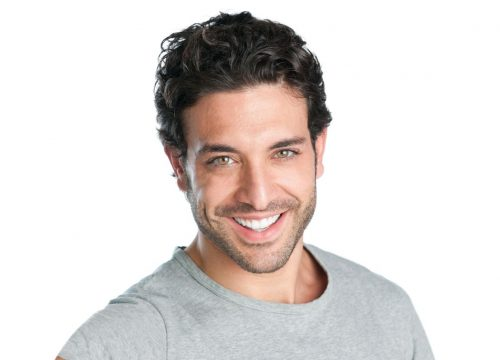 Man with dark hair and a nice smile