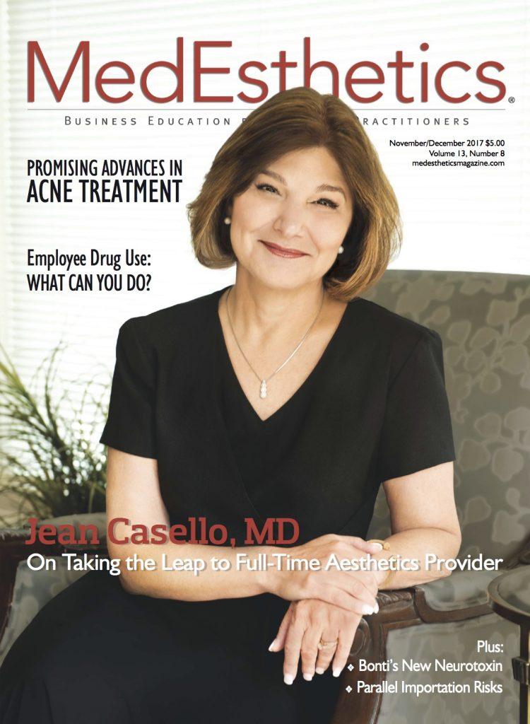 MedEsthetics magazine cover